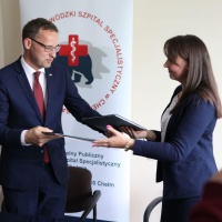 Ćwierć miliona złotych dla szpitala w Chełmie z Funduszu Sprawiedliwości